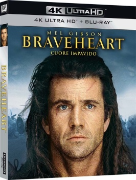 Braveheart - Cuore impavido (1995) Full Blu-Ray 4K 2160p UHD HDR 10Bits HEVC ITA DTS 5.1 ENG Atmos/TrueHD 7.1 MULTI