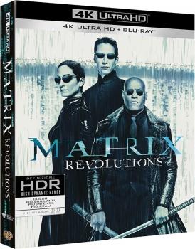 Matrix Revolutions (2003) Full Blu-Ray 4K 2160p UHD HDR 10Bits HEVC ITA DD 5.1 ENG Atmos/TrueHD 7.1 MULTI