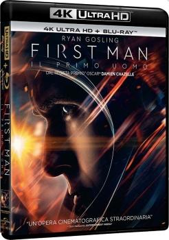 First Man - Il primo uomo (2018) Full Blu-Ray 4K 2160p UHD HDR 10Bits HEVC ITA DD Plus 7.1 ENG Atmos/TrueHD 7.1 MULTI