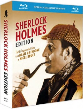 Sherlock Holmes: The Complete Collection (1939-1946) [14 Movies] [7-Blu-Ray] Full Blu-Ray 248Gb AVC ITA ENG GER DTS-HD MA 2.0