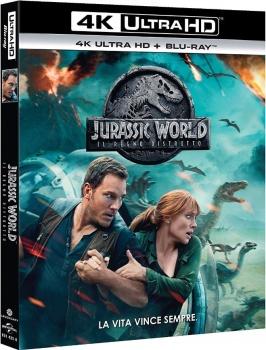Jurassic World - Il regno distrutto (2018) Full Blu-Ray 4K 2160p UHD HDR 10Bits HEVC ITA DTS-HD 7.1 ENG DTS:X/DTS-HD MA 7.1 MULTI