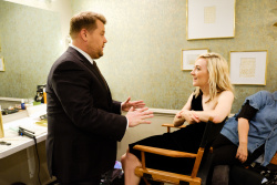 Saoirse Ronan - The Late Late Show with James Corden: November 8th 2017