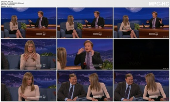 JENNIFER ANISTON *Classic: the pokies interview (full)* conan Feb 23, 2012