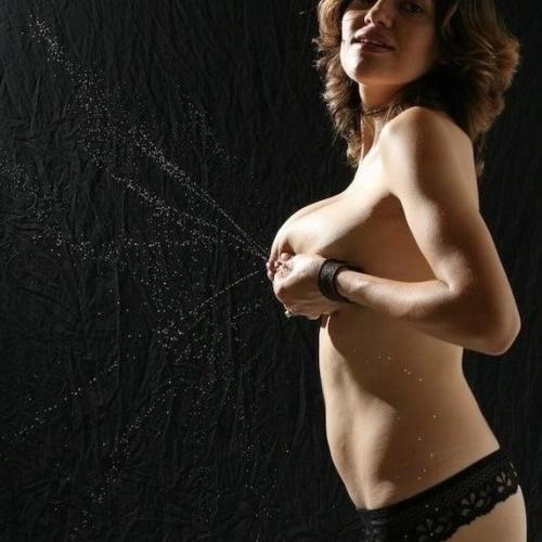 Massive lactating tits