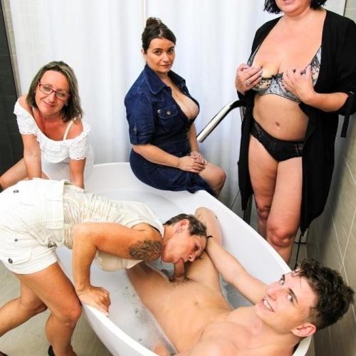 Free granny orgy porn