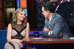 Helen Hunt - The Late Show with Stephen Colbert: May 1st 2018