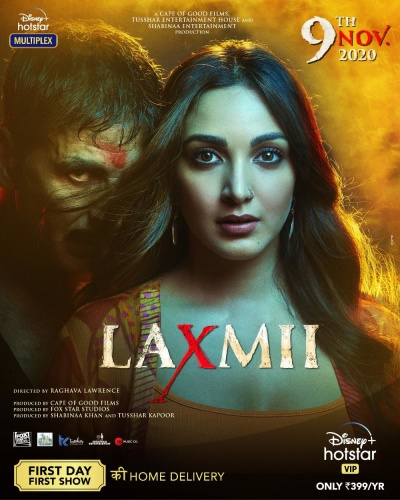 Laxmii (2020) 1080p HDRip x264 DDP 7 1 ESubs-DUS Exclusive