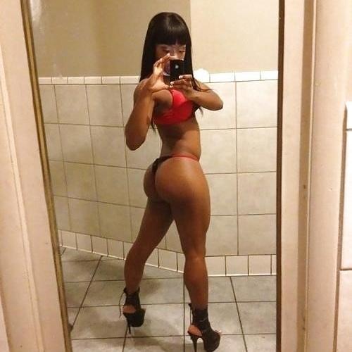 Naked ebony black girls