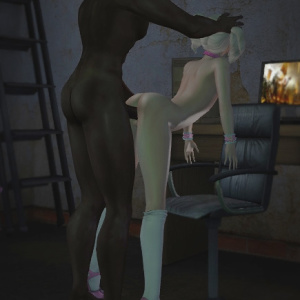 [Second Life] Femboy Trissy - Various interracial and solo pics