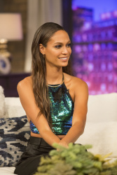 Joan Smalls - Movie Night with Karlie Kloss Season One Episode Six Promotional Photos