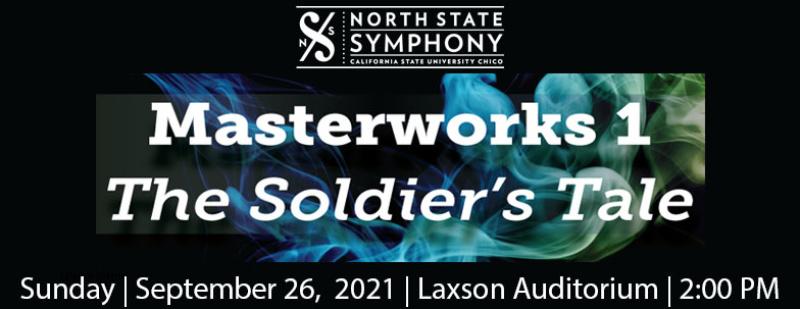 North State Symphony Masterworks 1 Sunday September 26,2021 Laxson