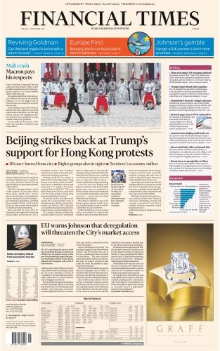 Financial Times Europe - 03 12 (2019)