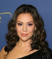 Alyssa Milano - Showtime Emmy Eve Nominees Celebration in LA 9/16/18