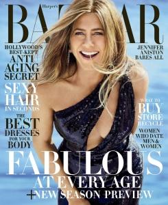 Jennifer Aniston -       Harper's Bazaar Magazine June/July 2019.