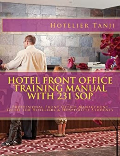 Hotel Front Office   A Training Manual, Third edition