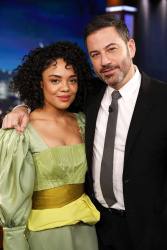 Tessa Thompson - Jimmy Kimmel Live: November 13th 2018
