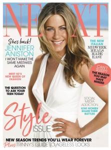 Jennifer Aniston -        Next Magazine (New Zealand) September 2019.