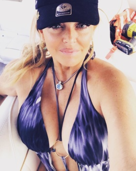 DR. GINA LOUDON *swimsuit, cleavage* wow  - 2018