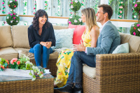 Catherine Bell - Hallmark's Home & Family 8.6.2018 Stills (c-thru to bra) x2