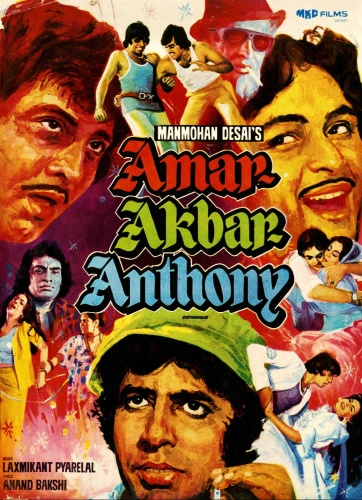Amar Akbar Anthony (1977) BluRay 1080p 10bit HEVC Hindi DD 5 1 H265 ESubs