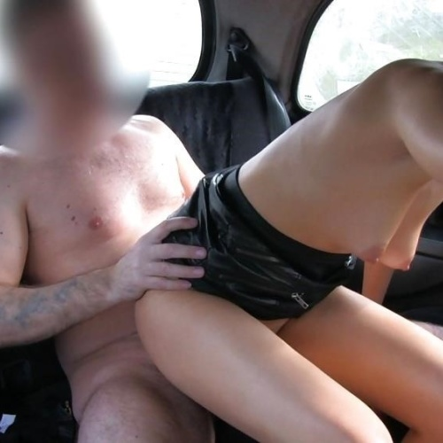 Busty fake taxi