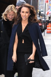 Lacey Chabert - Outside Good Morning America in NYC 03/04/2019