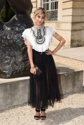 Sofia Boutella  -               Christian Dior Show Paris June 2nd 2018.