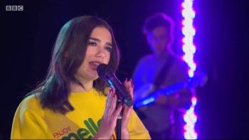 Dua Lipa - BBC Radio 1 Live Lounge 14th February 2018 1080i HDMania
