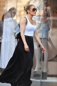 Jennifer Lopez - Shopping at Intermix in New York City (6/30/18)