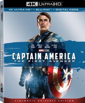 Captain America - Il primo Vendicatore (2011) Full Blu-Ray 4K 2160p UHD HDR 10Bits HEVC ITA DD Plus 5.1 ENG Atmos/TrueHD 7.1 MULTI