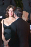 Lauren Cohan - Massive Cleavage at amfAR LA Inspiration Gala 2014