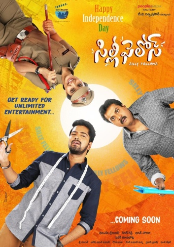 Silly Fellows (2018) UNCUT 720p HDRip x264 Esubs [Dual Audio][Hindi+Telugu] DM Exclusive