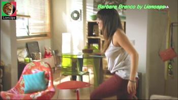 Barbara Branco sensual na novela A Impostora