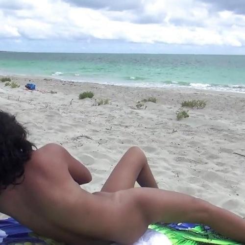 Nude beach hot sex