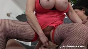 GrandMams 20 06 23 Mature Sluts With Big Tits Love Young Cock