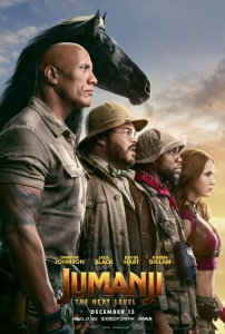 Jumanji The Next Level (2019) 720p HDCAM x264 Dual Audio Hindi (Clean) - English -...