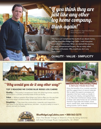 Log Home Living - March (2020)