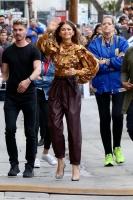 Zendaya Coleman -              Outside ''Jimmy Kimmel Live'' Hollywood May 9th 2019.