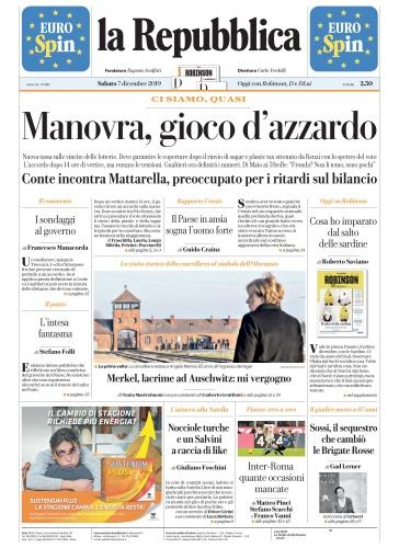 la Repubblica - 07 12 (2019)