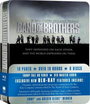 Band of Brothers - Fratelli al fronte (2001) [6 Blu-Ray] Full Blu-Ray 195Gb VC-1 ITA DD 5.1 ENG DTS-HD MA 5.1 MULTI