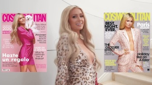 Paris Hilton | Cosmopolitan Cover Shoots (2020) | HD 1080p