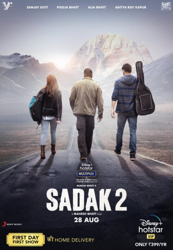 Sadak 2 (2020) 720p WEB-DL x264 DDP5 1 ESubs-Team IcTv Exclusive