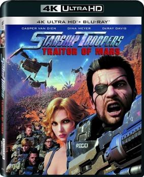 Starship Troopers: Attacco su Marte (2017) Full Blu-Ray 4K 2160p UHD HDR 10Bits HEVC ITA DD 5.1 ENG TrueHD 7.1 MULTI
