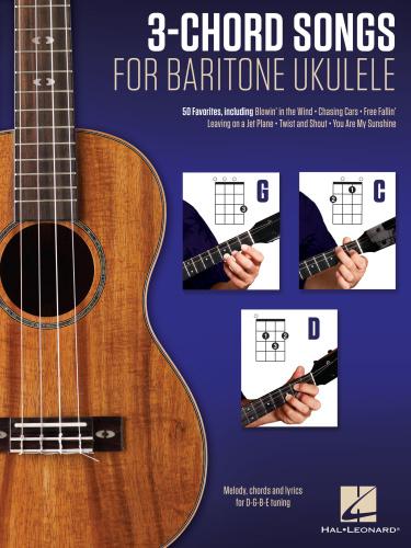 3 Chord Songs For Baritone Ukulele G C D (2016)