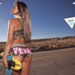 Flor Cassi Surf Septiembre-Octubre 2017 | the4um.com.mx