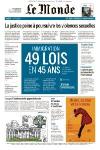Le Monde - 07 11 (2019)