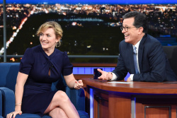 Kate Winslet - The Late Show with Stephen Colbert: November 30th 2017