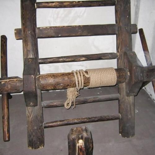 Medieval torture bondage