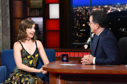 Alison Brie - The Late Show with Stephen Colbert: June 18th 2018