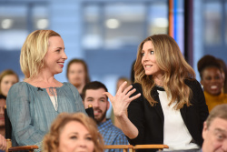Sarah Chalke - Good Morning America: March 26th 2018